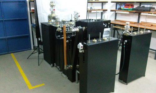 Varios diplexores en laboratorio