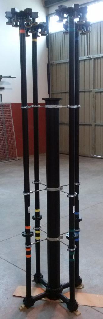 Vimesa diseña y fabrica un distribuidor modular y  Asimétrico en BII de 24 salidas