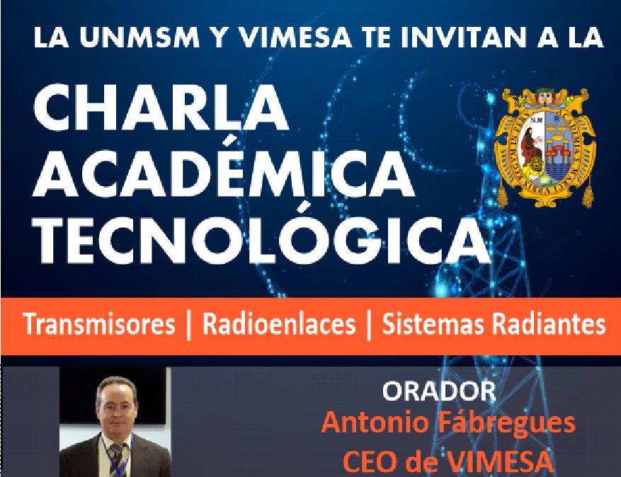 Charla Académica Tecnológica